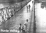 Bridge over Paraíba river, inaugurated in 1905